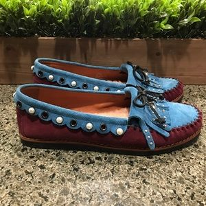 Coach Rexy Roccasin Slip On Moccasins Size 10